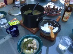 We had Sinigang Barbeque SpareRibs Dog Food Combo